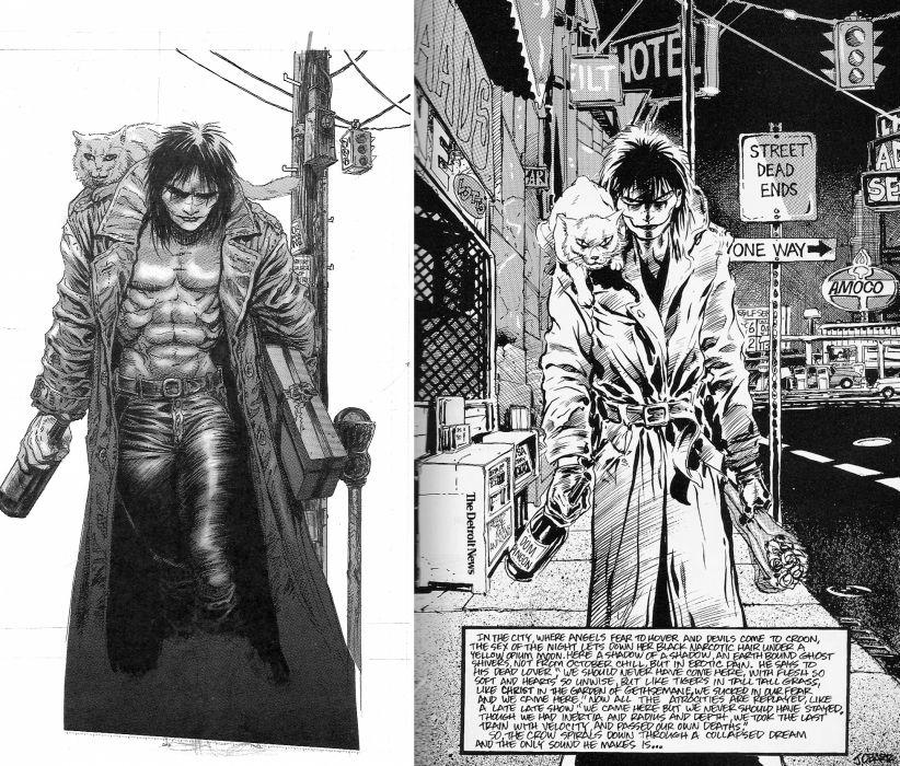 The-Crow crow dark comics movies v