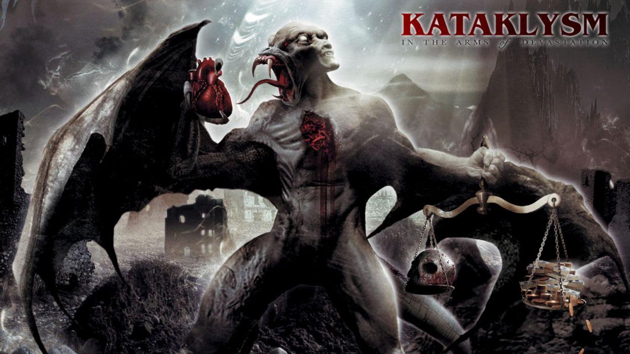 KATAKLYSM death metal heavy hard rock wallpaper