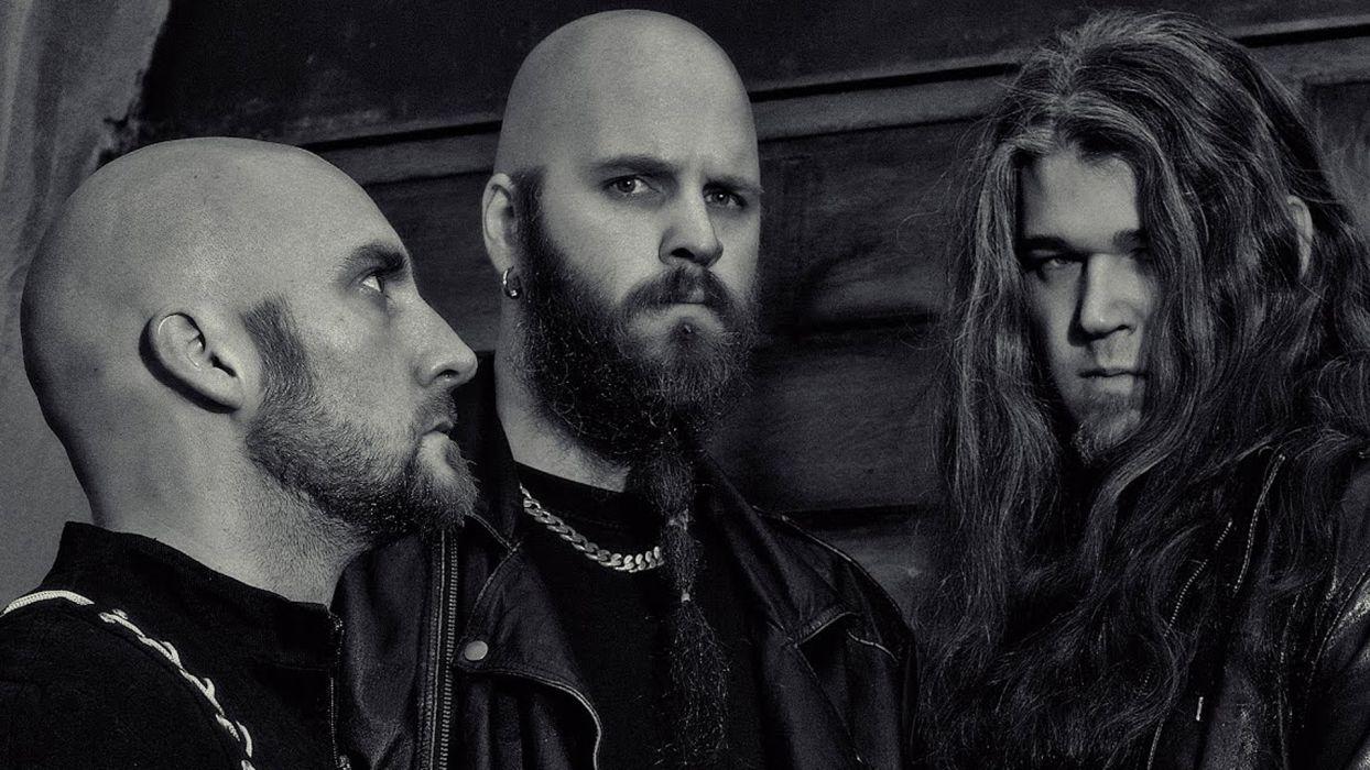 NAGLFAR blackened death metal heavy hard rock w wallpaper