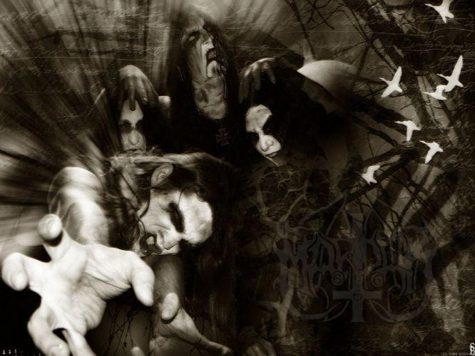 MARDUK black metal heavy hard rock dark h wallpaper