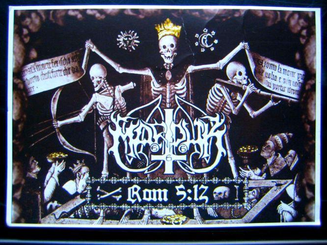 MARDUK black metal heavy hard rock dark skull skulls d wallpaper