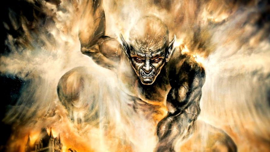 KREATOR thrash metal heavy hard rock dark demon demons wallpaper