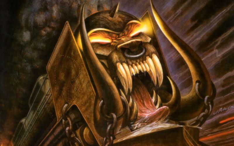 MOTORHEAD heavy metal hard rock dark skull skulls e wallpaper