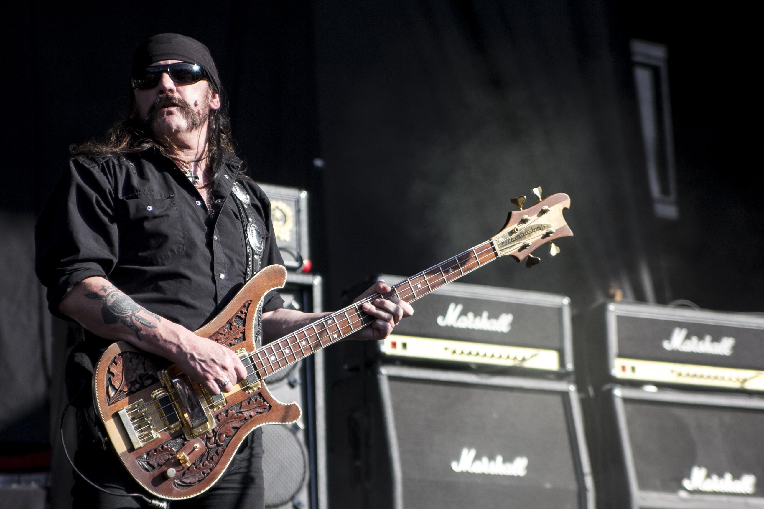Lemmy Kilmister Rock Music Motorhead Wallpaper Hd: MOTORHEAD Heavy Metal Hard Rock Guitar Guitars Concert