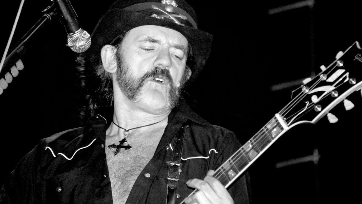 MOTORHEAD heavy metal hard rock guitar guitars concert concerts b-w black wallpaper