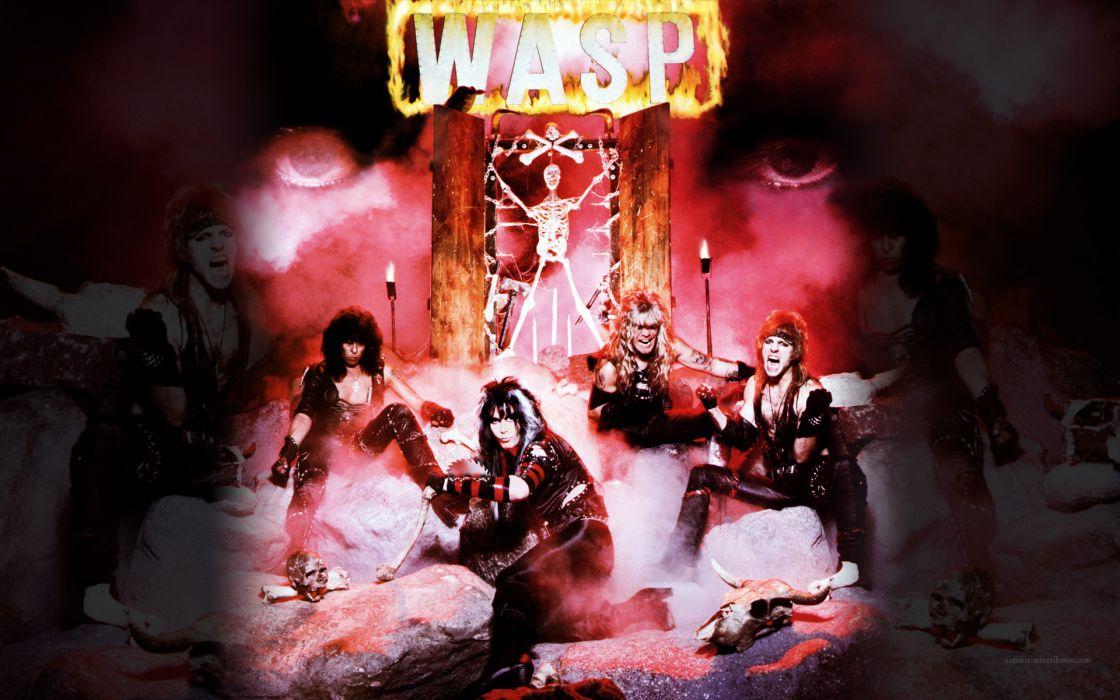 WASP heavy metal hard rock   e wallpaper