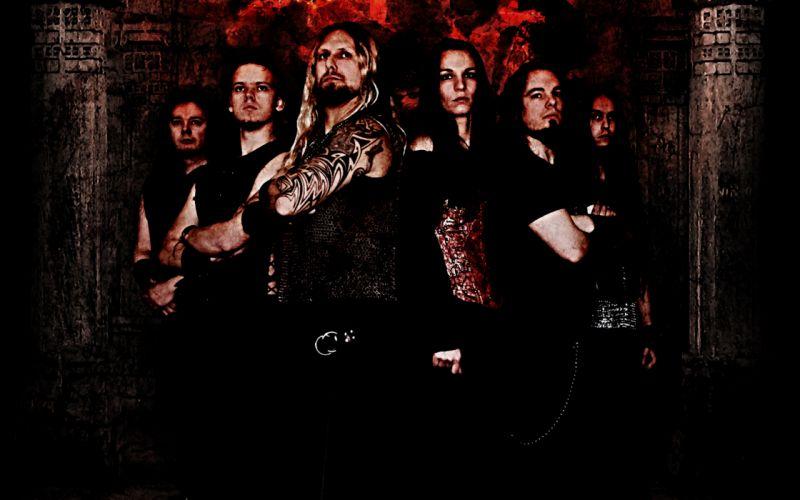 ADORNED BROOD folk metal heavy hard rock wallpaper