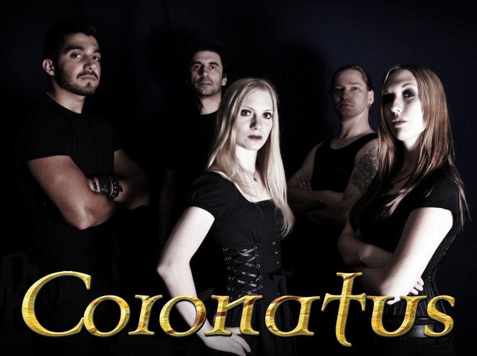 CORONATUS symphonic gothic metal heavy   e wallpaper