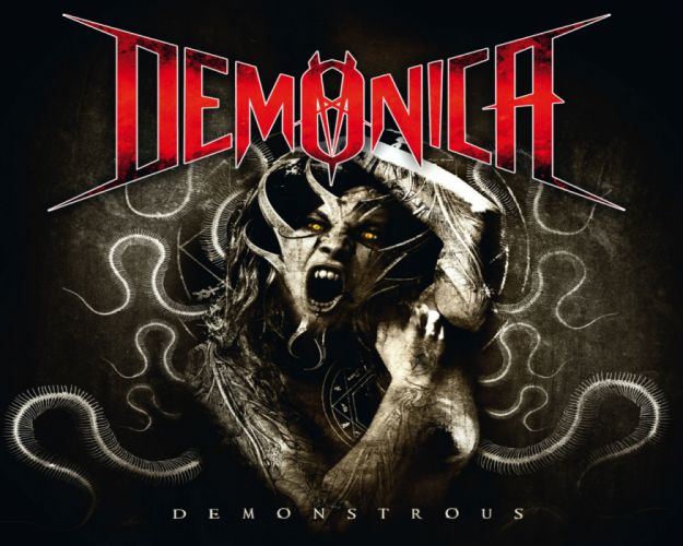 DEMONICA thrash metal heavy dark evil demon demons satan wallpaper