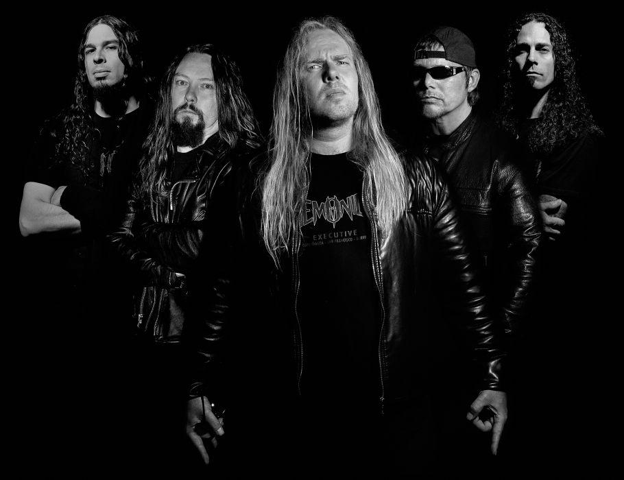DEMONICA thrash metal heavy wallpaper