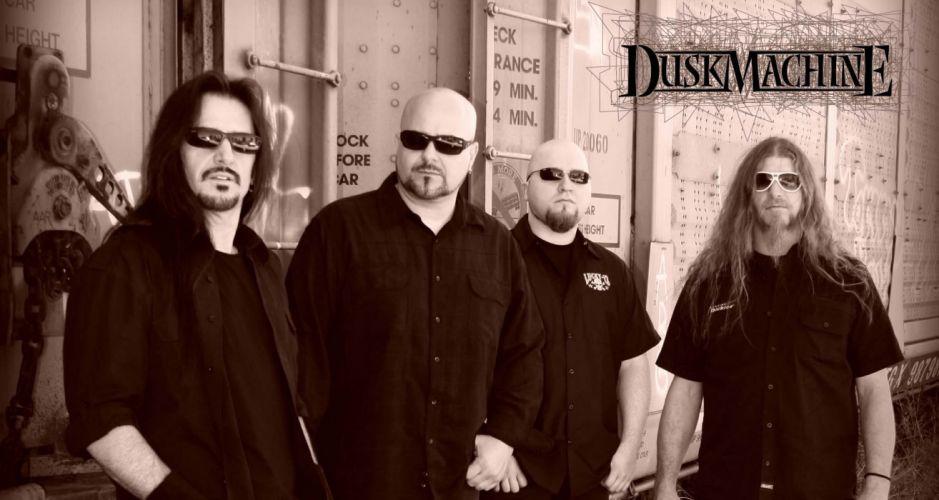 DUSKMACHINE thrash metal heavy e wallpaper