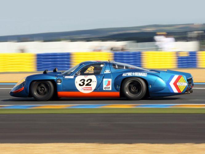 1966 Alpine Renault A210 Le-Mans race racing supercar supercars e wallpaper