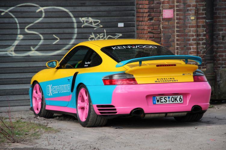 2005 OKChiptuning Porsche 911 Manta Tuning r wallpaper