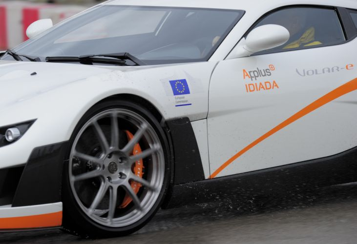 2013 Applus Volar-e Concept race racing supercar supercars wheel wheels wallpaper