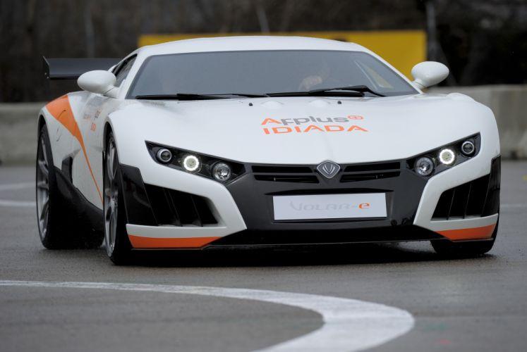 2013 Applus Volar-e Concept race racing supercar supercars wallpaper