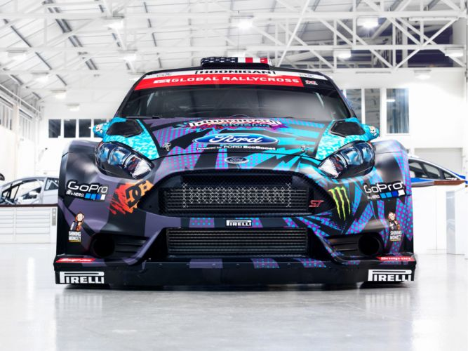2013 Ford Fiesta S-T RX43 Rallycross race racing tuning e wallpaper