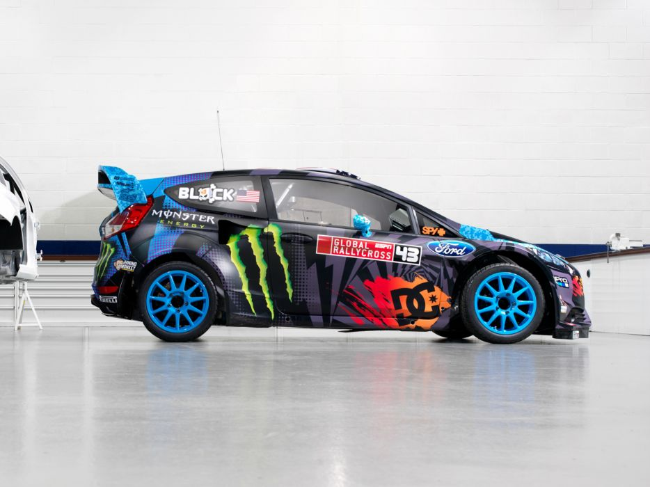 2013 Ford Fiesta S-T RX43 Rallycross race racing tuning w wallpaper