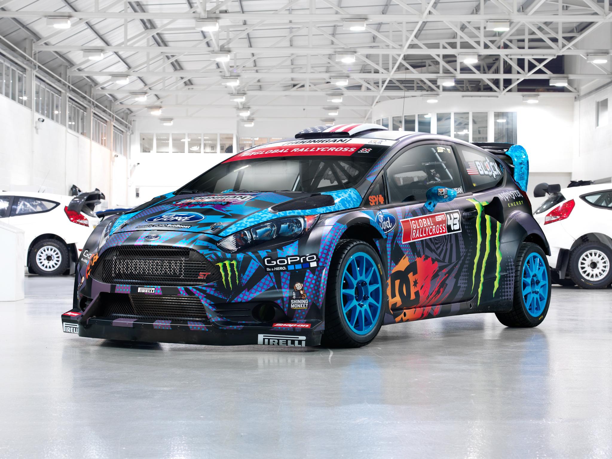 2013 Ford Fiesta S T Rx43 Rallycross Race Racing Tuning Wallpaper 2048x1536 86575 Wallpaperup