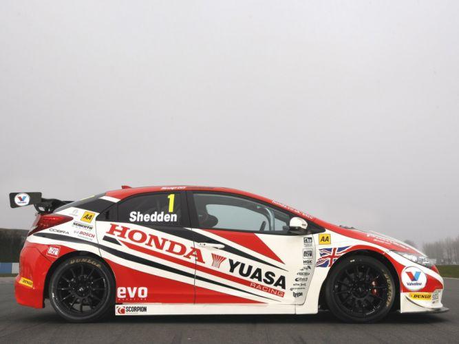 2013 Honda Civic BTCC race racing w wallpaper