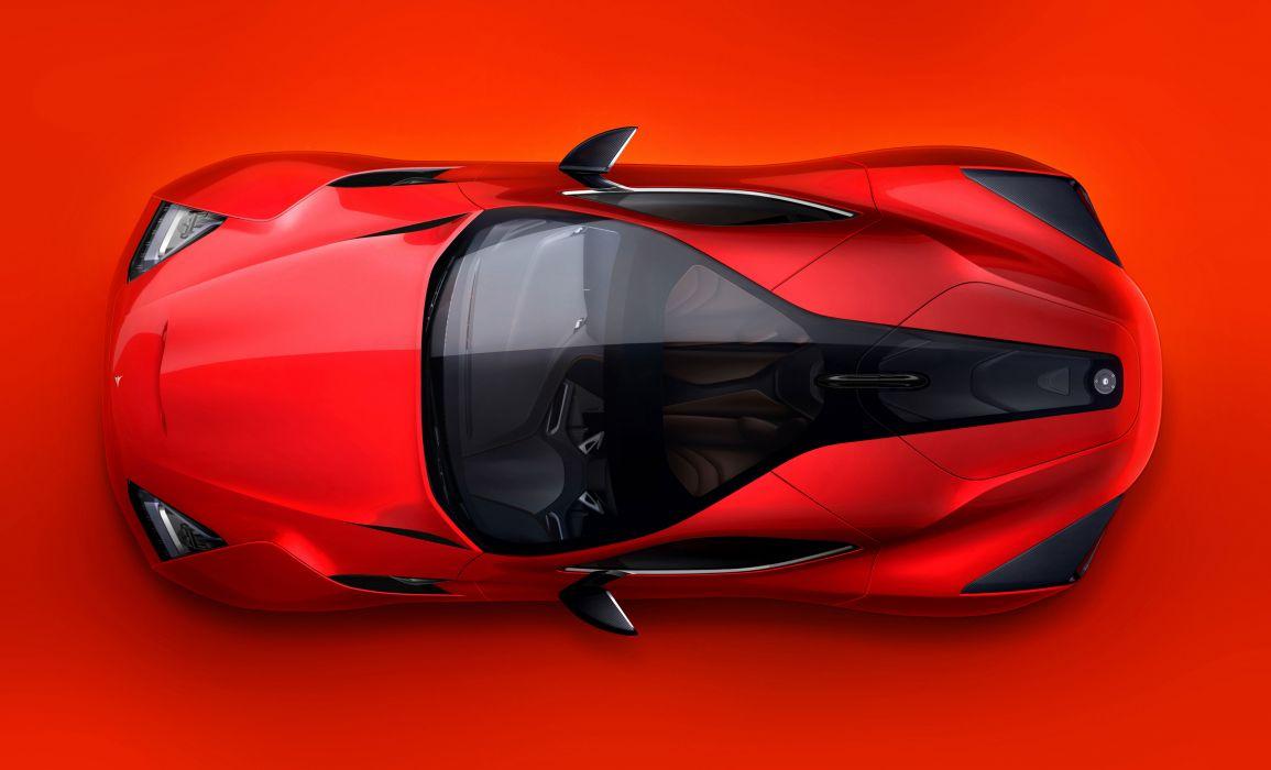 2013 Icona Vulcano hybrid supercar supercars e wallpaper