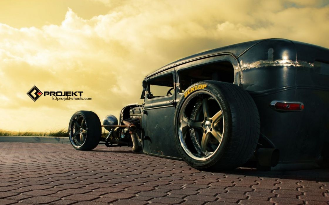 1931 K3-Projekt Ford Model-T rat rod hot rods retro wheel wheels wallpaper