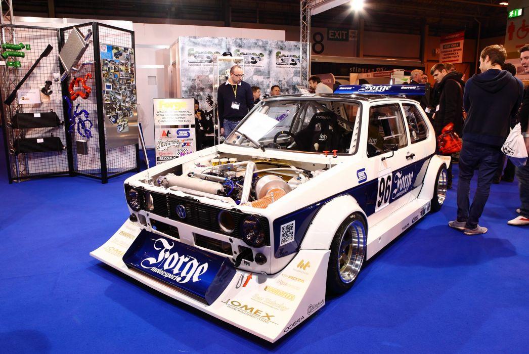 1982 Volkswagen Golf MK1 GTi Berg race racing wallpaper