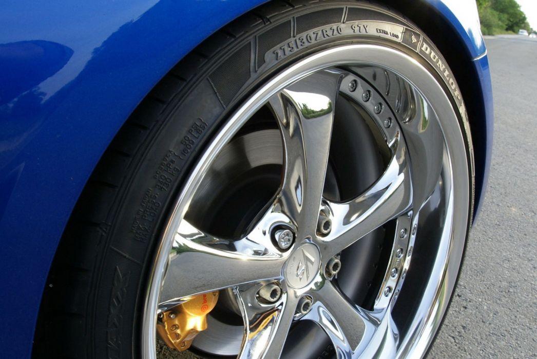 2009 Nissan 350Z Cabriolet supercar supercars tuning wheel wheels e wallpaper