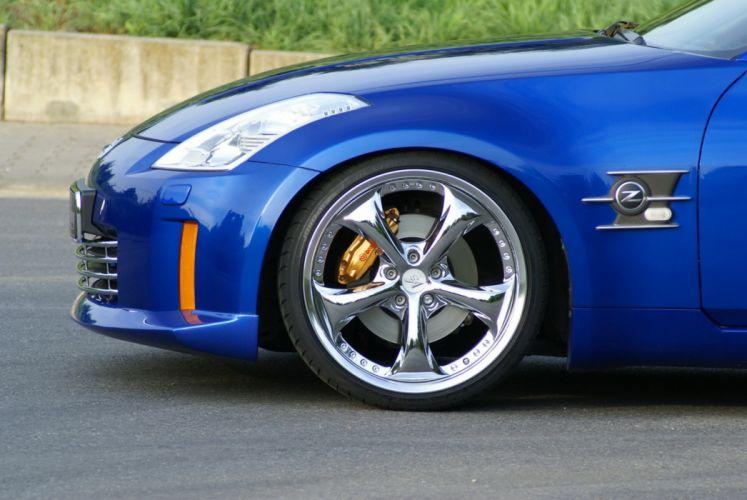 2009 Nissan 350Z Cabriolet supercar supercars tuning wheel wheels wallpaper
