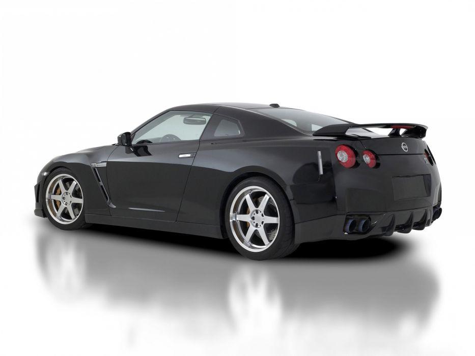 2009 Nissan GTR R35 supercar supercars   f wallpaper