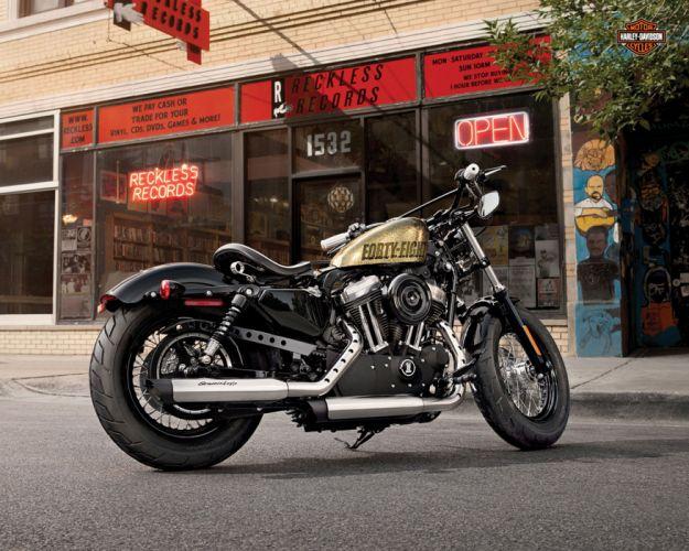 2013 Harley Davidson XL1200X Forty Eight wallpaper