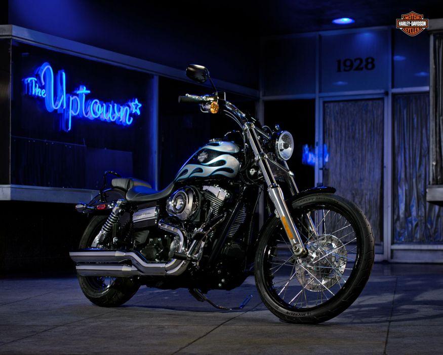 2013 Harley Davidson FXDWG Dyna Wide Glide q wallpaper
