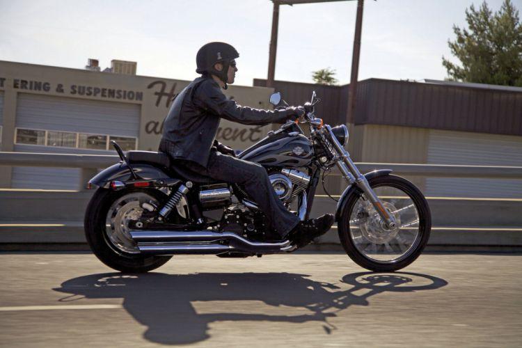 2013 Harley Davidson FXDWG Dyna Wide Glide wallpaper