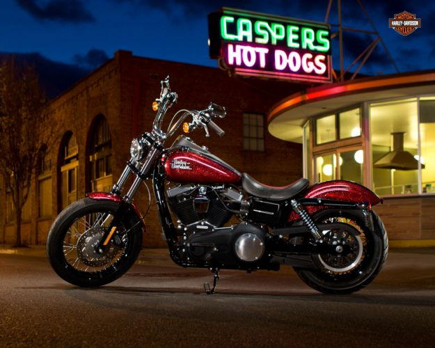 2013 Harley Davidson FXDB Dyna Street Bob wallpaper