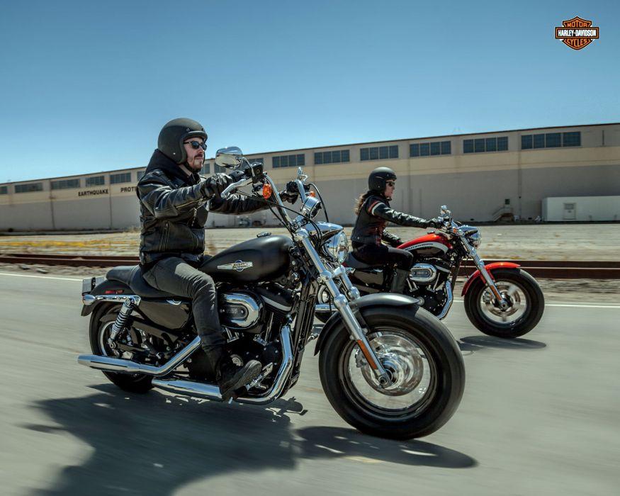 2013 Harley Davidson XL1200C Sportster 1200 Custom q wallpaper