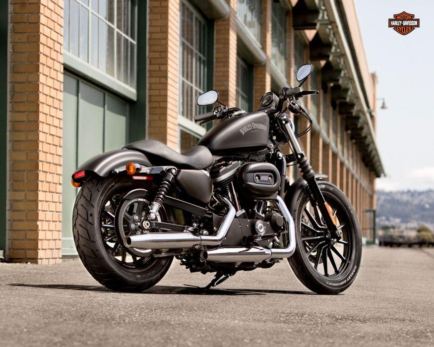 2013 Harley Davidson XL883N Iron 883    g wallpaper