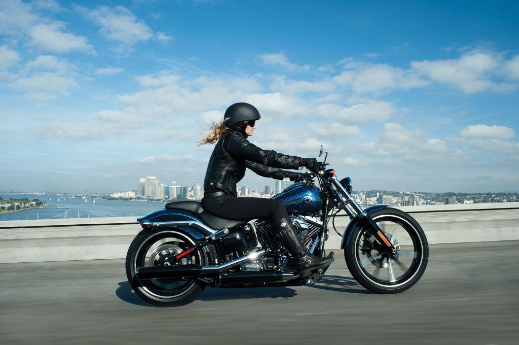 2013 Harley Davidson FXSB Breakout    f wallpaper