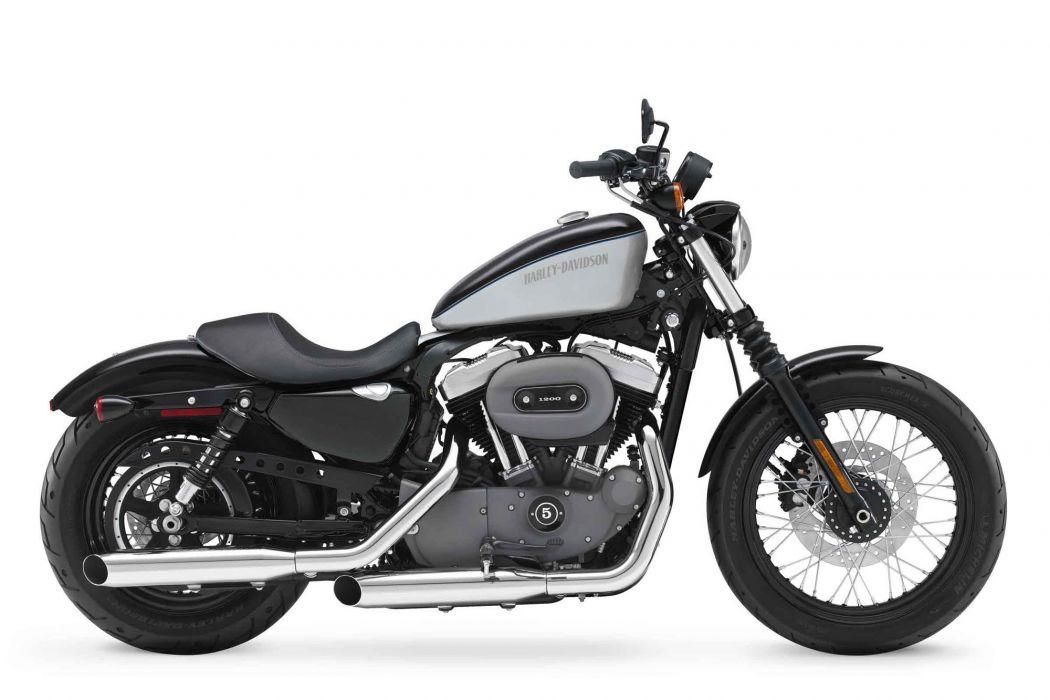 2012 Harley Davidson XL1200N Nightster w wallpaper
