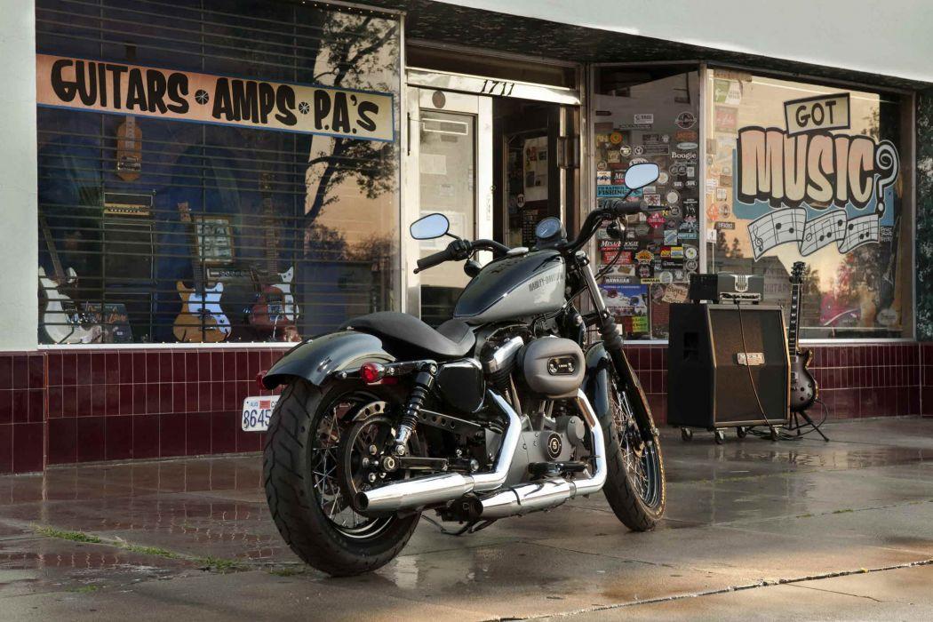 2012 Harley Davidson XL1200N Nightster wallpaper