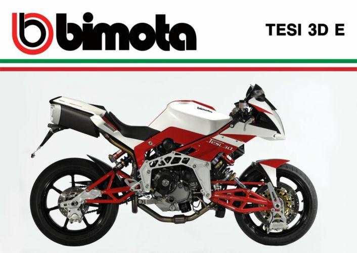2013 Bimota Tesi 3D-E wallpaper