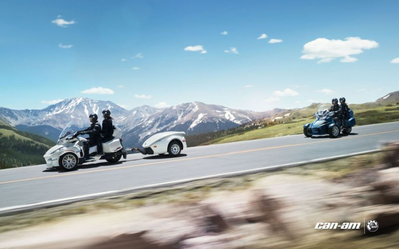2013 Can-Am Spyder R-T Limited wallpaper