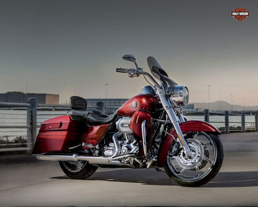 2013 Harley Davidson FLHRSE5 CVO Road King wallpaper