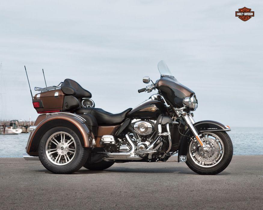 2013 Harley Davidson FLHTCUTG Tri-Glide Ultra Classic tri glide q wallpaper