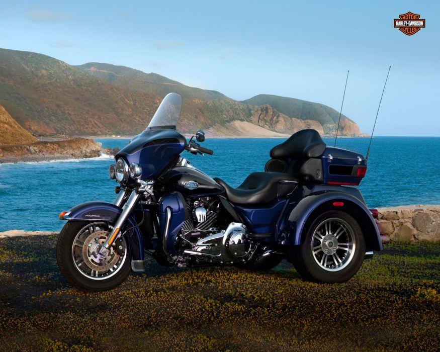 2013 Harley Davidson FLHTCUTG Tri-Glide Ultra Classic tri glide wallpaper