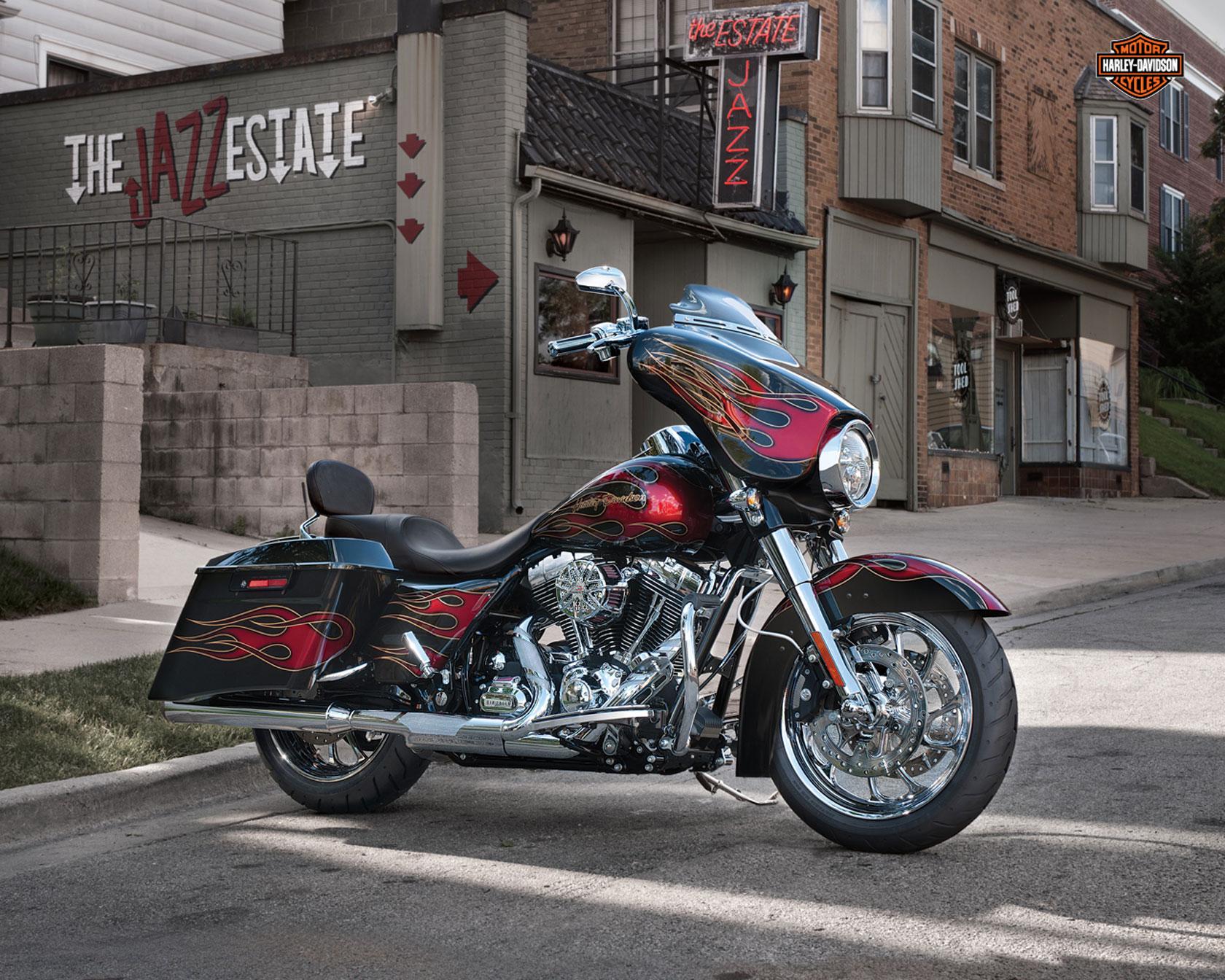 motorcycle harley street glide wallpaper - photo #15