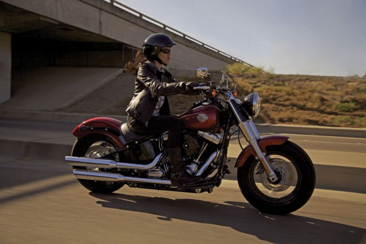 2013 Harley Davidson FLS Slim wallpaper