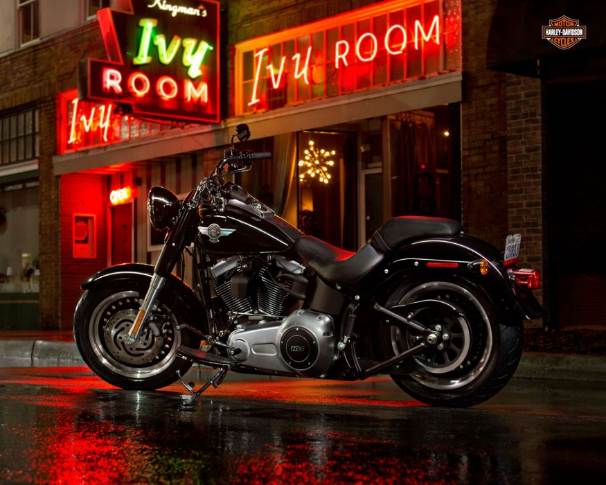 2013 Harley Davidson FLSTFB Fat Boy Lo q wallpaper