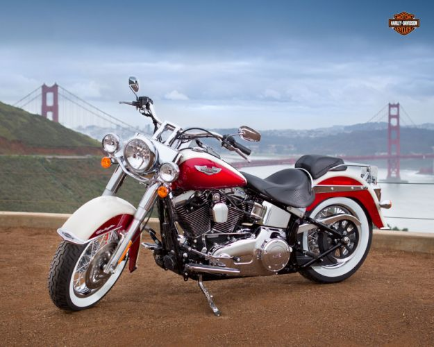 2013 Harley Davidson FLSTN Softail Deluxe wallpaper