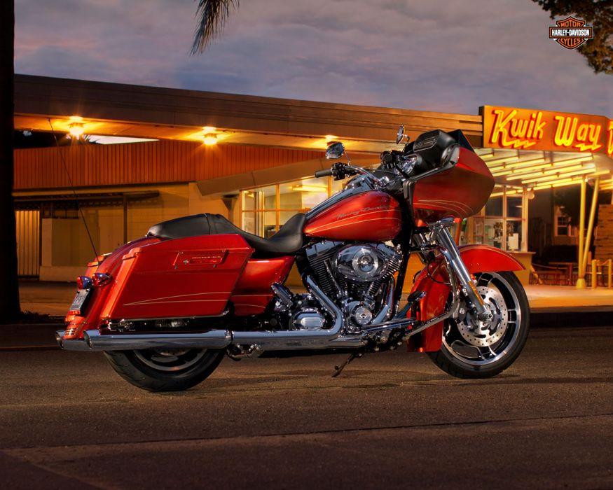 2013 Harley Davidson FLTRX Road Glide Custom wallpaper