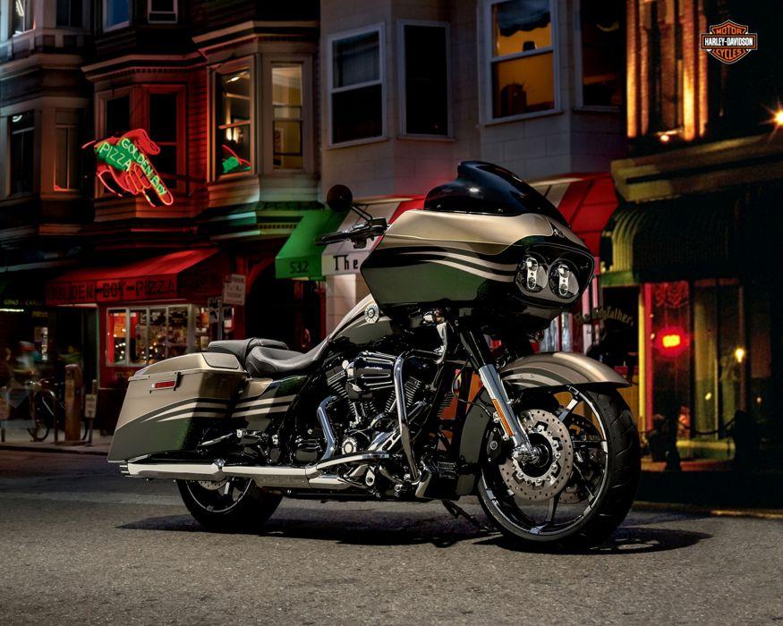 2013 Harley Davidson FLTRXSE2 CVO Road Glide Custom wallpaper