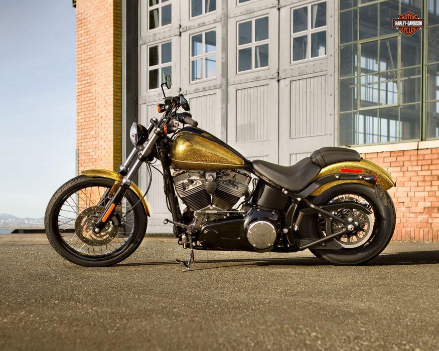 2013 Harley Davidson FXS Blackline wallpaper